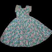 Vintage 1950's Alexander HTF Tagged Cissy Dress