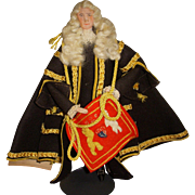 "Vintage Liberty of London ""Lord Chancellor"" Doll"