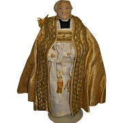 "Vintage Liberty of London ""Archbishop of Canterbury"" Doll"