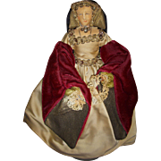 "Vintage Liberty of London ""Catherine of Aragon"" Doll"
