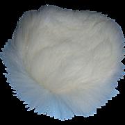 Vintage 1950s Vogue Ginny White Fur Hat