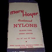 Vintage Rare 1950's Original Mary Hoyer Nylons MIP