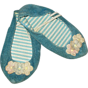 Vintage Mattel Blue Chatty Cathy Shoes