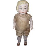 Vintage All-Bisque Jointed Doll