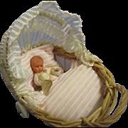 Vintage German Caco Baby in Original Carriage