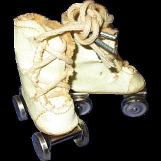 Vintage 1950s Mary Hoyer Doll Roller Skates