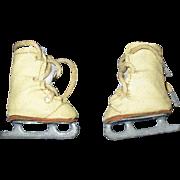 Vintage 1950s Mary Hoyer Doll Ice Skates