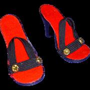 Vintage Cissy Size High Heels