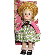 "Vogue 1950s Ginny ""Tiny Miss"" Doll in Original Box"