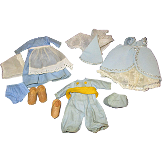 Vintage Lot of 3 Early Tagged Strung Vogue Ginny Outfits