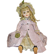 "Vintage Madame Alexander Composition ""Madelaine"" Doll All Original Tagged Dress"