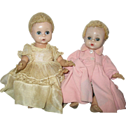 1950s Madame Alexander Little Genius Dolls