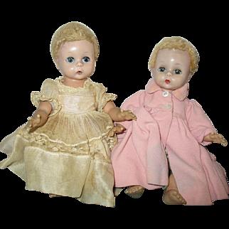 1950s Madame Alexander Little Genius Dolls
