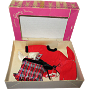 "1950s Vogue Ginny ""Fun Time"" Boxed Ice Skater Outfit"
