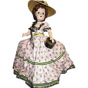 """Rare 1953 Madame Alexander """"Picnic Day"""" Doll All Original from the Glamour Series"""