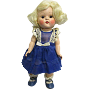 "Vogue 1952 Strung Ginny Doll ""Kay"" from ""Kindergarten Series"" All Original"