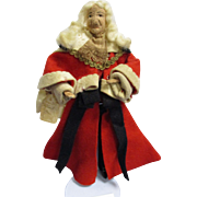 "Vintage Liberty of London ""Lord Chief Justice"" Doll All Original"