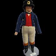 "Vintage Liberty of London ""John Bull"" Doll All Original"