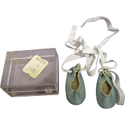 Vintage 1950s MIB Alexander Doll Ballet Slippers
