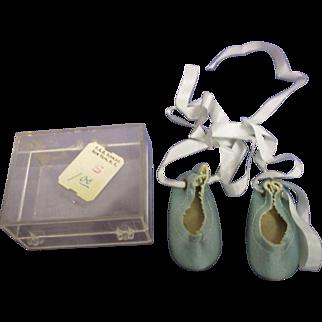 Vintage 1950s MIB Alexander Doll Ballet Slippers
