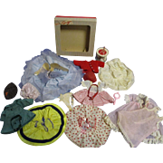 Vintage Lot of Tagged Ginger Doll Clothes & Accessories