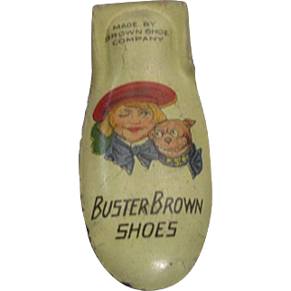 Vintage Advertising Buster Brown Toy Clicker