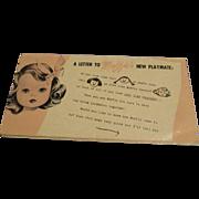 "Vintage Original HTF ""Muffie"" Booklet"