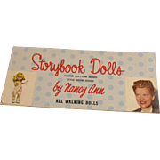 "Vintage 1950's Original ""Muffie & Style Show Dolls"" Booklet"