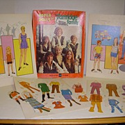 "Vintage ABC TV Series ""The Partridge Family"" Paper Dolls!"