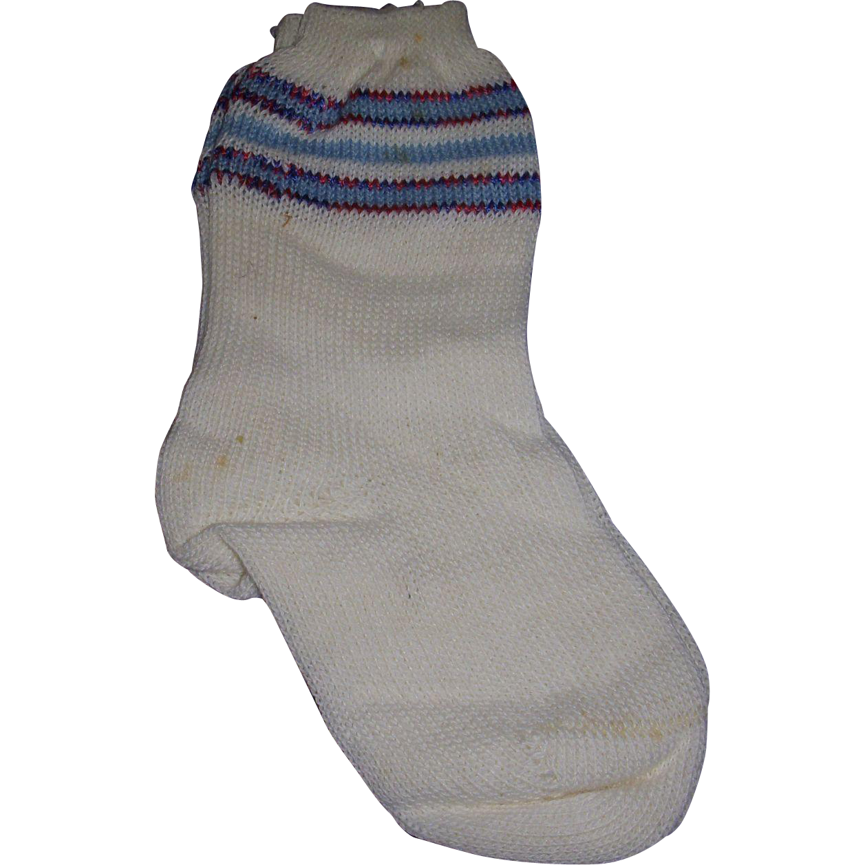 Vintage Doll Socks Old Store Stock
