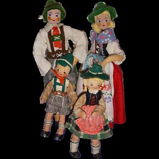 Vintage German BAPS Bavarian Family