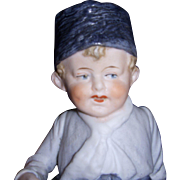 Sweet German Bisque Boy Figurine