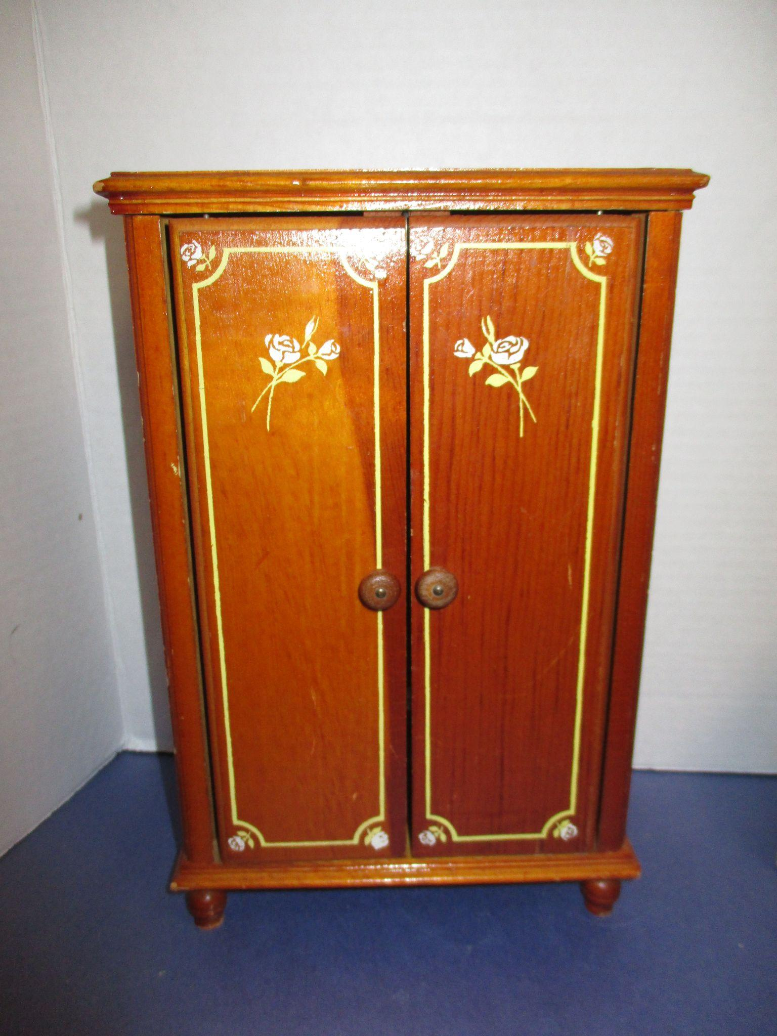 Vintage 1957 Keystone Wooden Bedroom Furniture Set From