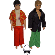 Vintage Dawn Dolls Lot of 2 - Gary and Dance Party Kevin