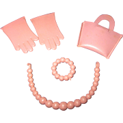 Vintage 1950s Ginny Accessory Lot