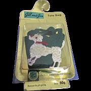 Vintage 1950s MIP Jill Poodle Purse