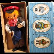 Vintage German Berliner Doll in Original Box