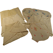 Vintage Baby Doll  Diapers Factory Made Lot of 6
