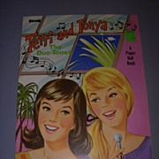 "1961 Vintage ""Terri and Tonya"" Uncut Paper Doll Set !"