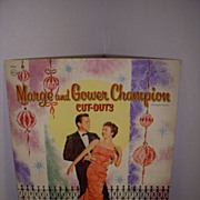 "1959 Vintage ""Marge and Gower Champion"" Paper Doll Set !"