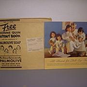 1937 Dionne Quintuplet Paper Set Dolls Uncut!!