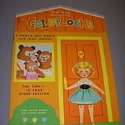 """Goldilocks"" Paper Dolls Uncut 1966!"