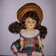 "Vintage 1954 8"" Virga Doll All Original!"