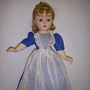 "Vintage 1950s Madame Alexander Little Women ""MEG"" Doll!"