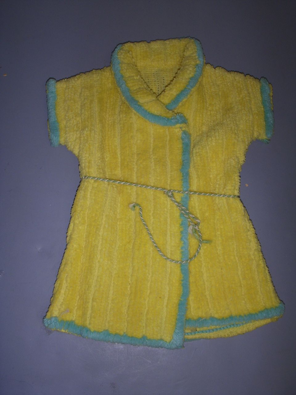 Vintage Chenille Robe for Baby Doll!