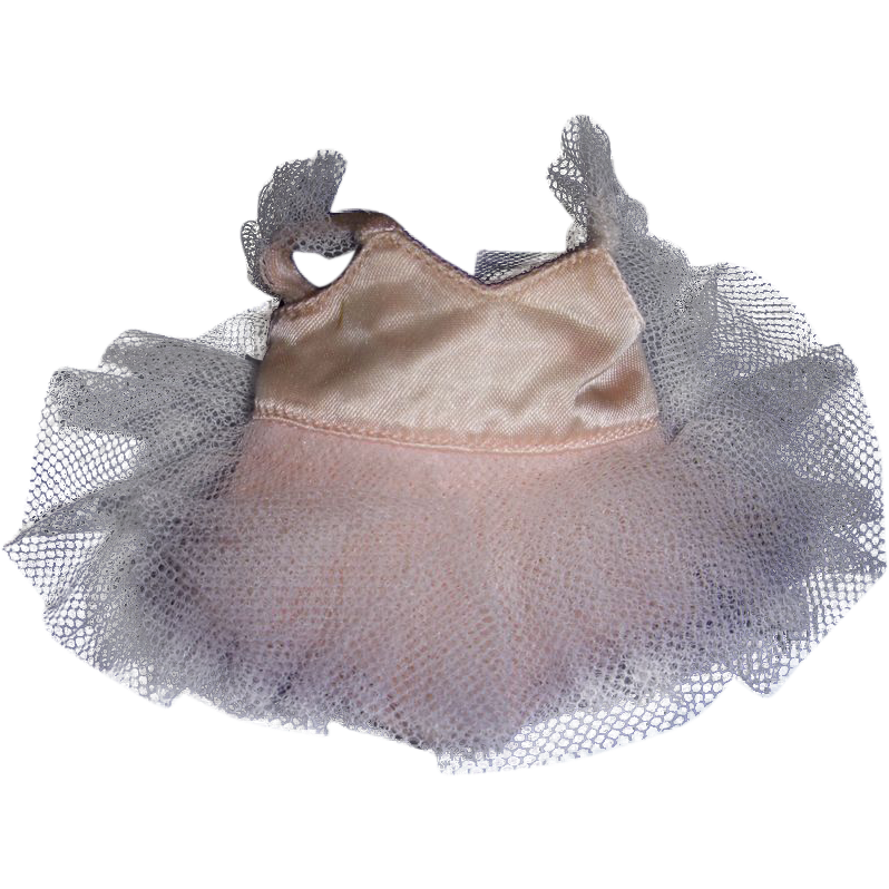 """Vintage HTF Jane Miller Tagged 8"""" Doll Ballet Dress!"""