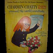 "1964 Vintage ""Charmin' Chatty"" Paper Doll Set !"