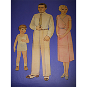 "1932 Vintage Queen Holden ""Family of Paper Dolls"" Paper Dolls!"