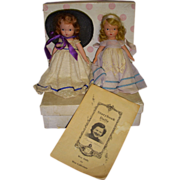 "Lot of 2 Nancy Ann Storybook Dolls ""Southern Belle & Dainty Dolly""!"