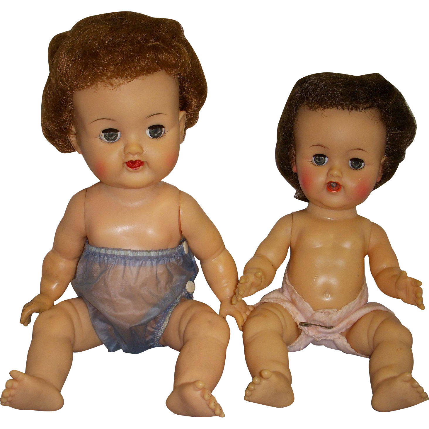 Pair of 1950s Ideal Betsy Wetsy Dolls